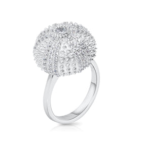 Mini Sea Urchin Cocktail Ring