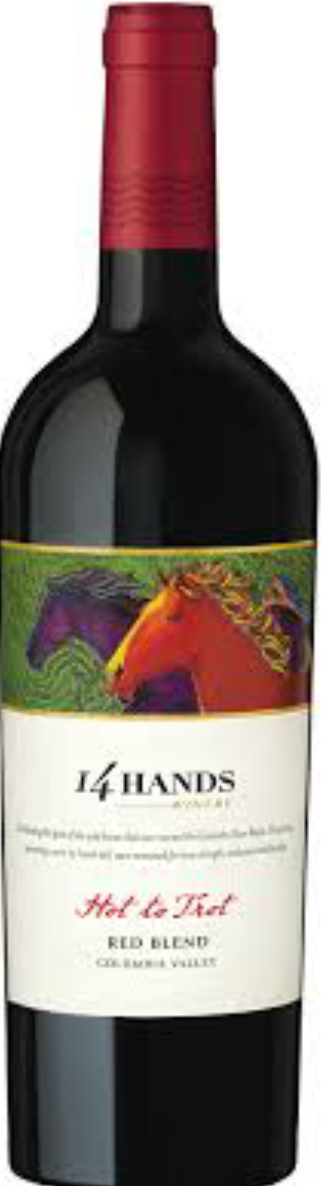 14 Hands Hot To Trot Red 750ml
