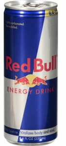 Red Bull Single Can