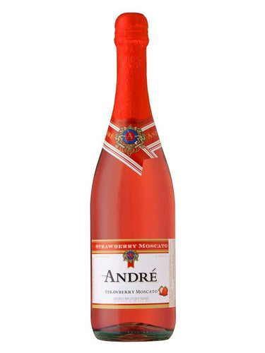 Andre Champagne Strawberry Moscato 750ml