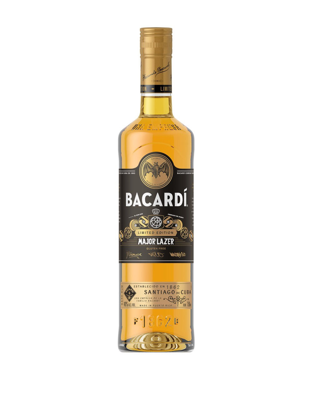 Bacardi Limited Major Lazer 750mL