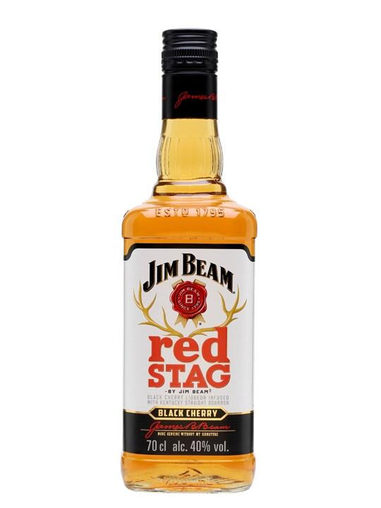 Jim Beam Red Stagg Black Cherry 750ml