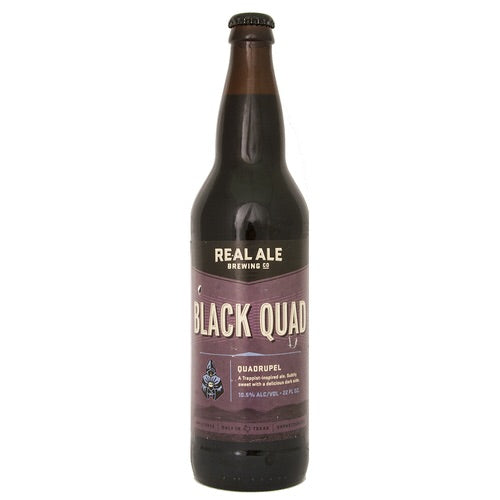 Real Ale Black Quad 22oz