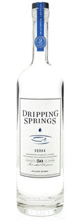 Dripping Springs Vodka 80 375mL