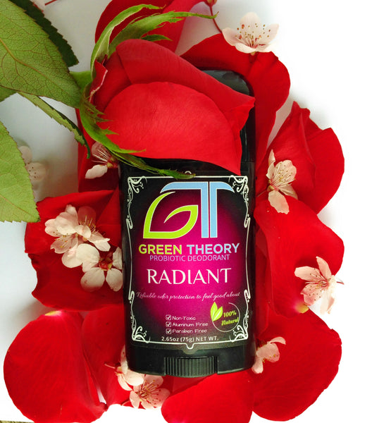 Radiant Probiotic Deodorant - A Rose Explosion For the Senses