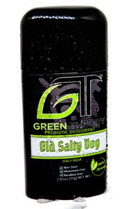 Old Salty Dog Probiotic Deodorant - Front label