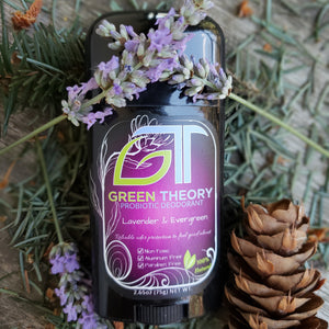 Lavender & Evergreen Probiotic Deodorant