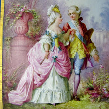 Load image into Gallery viewer, Antique French Hand Painted Porcelain Portrait Plaque Sevres Style