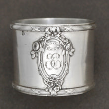 Load image into Gallery viewer, Antique French Sterling Silver Napkin Ring