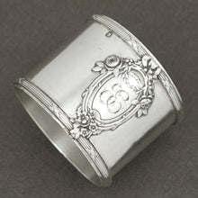 Antique French Sterling Silver Napkin Ring