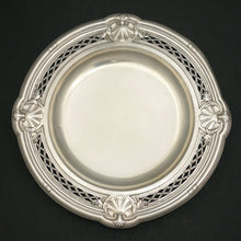 Load image into Gallery viewer, Antique French Sterling Silver Centerpiece Tazza / Footed Tray
