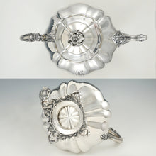 Load image into Gallery viewer, Antique French Sterling Silver Melon Teapot, Heavy 802.5g, Ornate Lion & Floral Motif