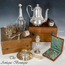 Collection of French antique silver