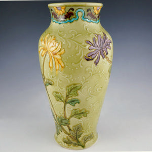 Art Nouveau French Sevres Porcelain Paul Milet Vase