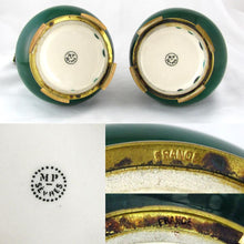 Pair of Paul Milet for Sevres Vases, French Porcelain & Signed DELAUNAY Bronze Mounts