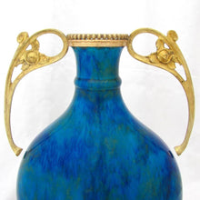 Load image into Gallery viewer, Paul Milet Art Nouveau Vase Sevres Flambe Glaze French Porcelain