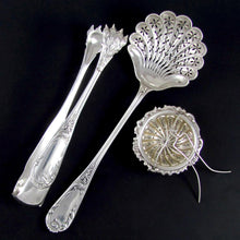 Load image into Gallery viewer, 3pc Antique French Sterling Silver Tea, Coffee & Dessert Serving Set
