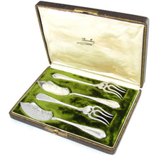Antique French Sterling Silver Hors d'Oeuvre Servers