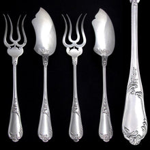 Antique French Sterling Silver Hors d'Oeuvre BonBon Servers