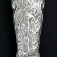 Load image into Gallery viewer, Art Nouveau French .800 Silver Wax Seal, Nude & Dolphins, Firmin Pierre Lasserre