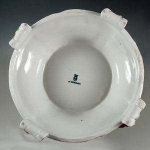 Large German Porcelain Urn Von Schierholz