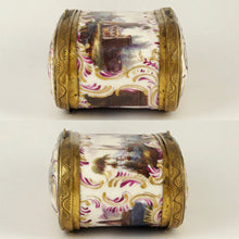 Load image into Gallery viewer, Antique 18th century Meissen Porcelain Hand Painted Snuff Box