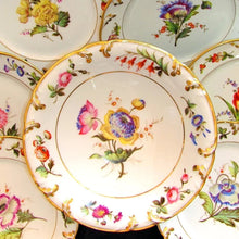 Load image into Gallery viewer, Antique French porcelain dessert set by Pillivuyt
