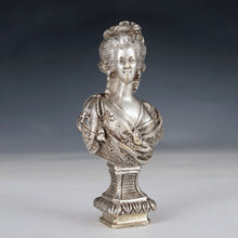 Load image into Gallery viewer, Antique French Bronze Wax Seal Signed Alfred Daubrée, Marie Antoinette