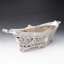 Load image into Gallery viewer, Antique French Sterling Silver Large Jardiniere Table Centerpiece