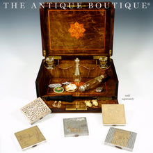 The Antique Boutique collection antiques boxes jewelry perfume bottles french