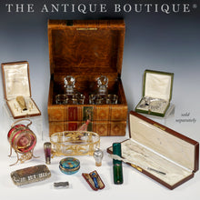 Load image into Gallery viewer, Antique French 18k Gold Mounted Mother of Pearl Cigarette or Cheroot Holder & Case, Etui