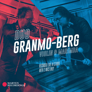 Violin & Marimba - Duo Granmo Berg<br>(CD)