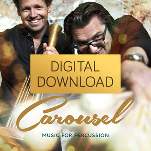 NEW! Carousel - Rhythm Art Duo<br>(High Res Digital Download)