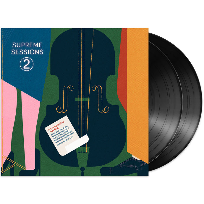 Supreme Sessions 2 - Back In Stock!<br>Double Virgin Vinyl 180g