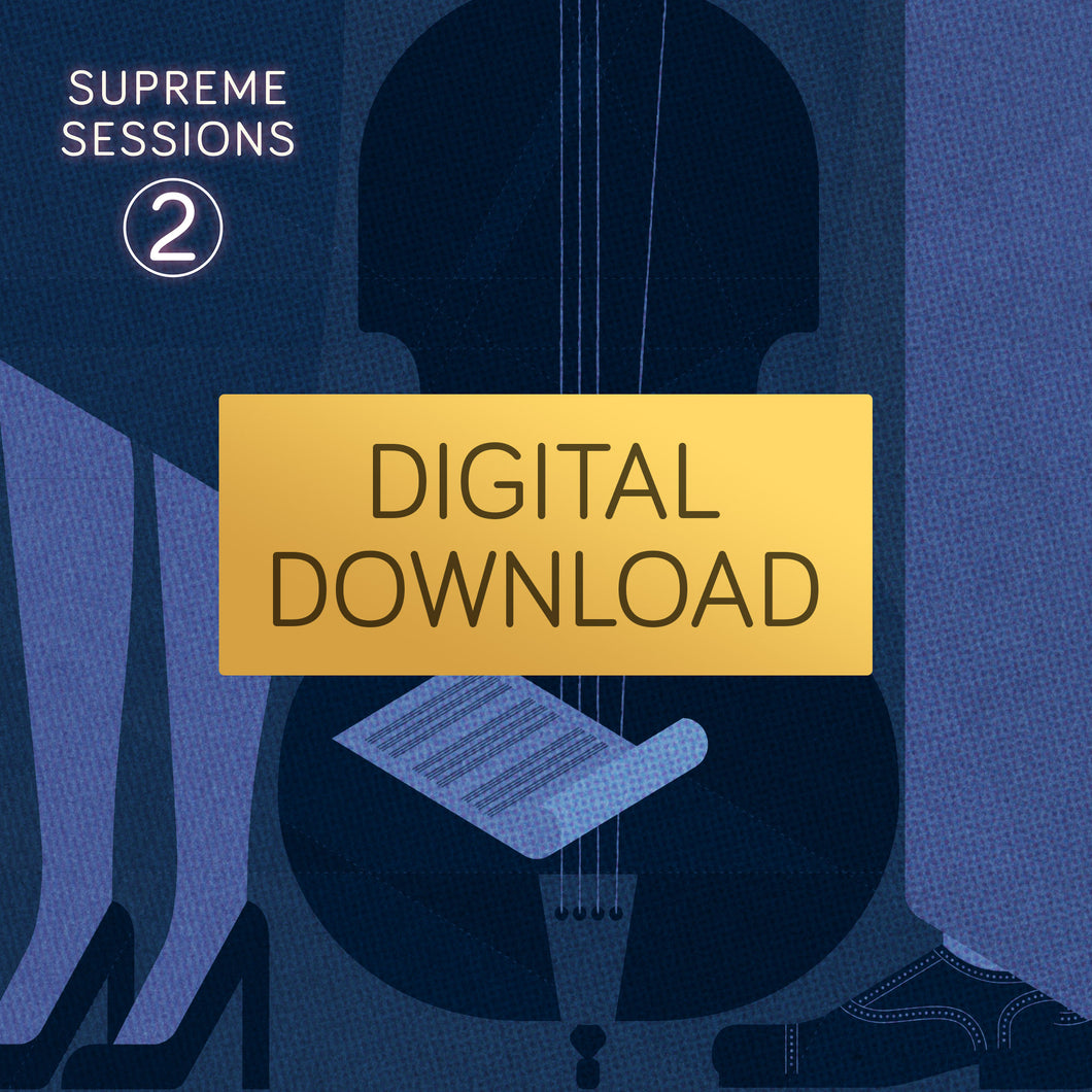 Supreme Sessions 2 - Various artists<br>(High Res Digital Download)