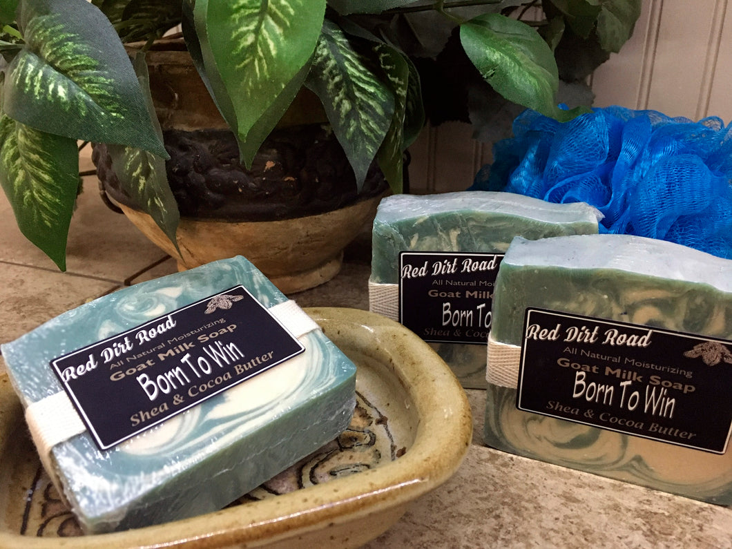 Born To Win Goat Milk Soap