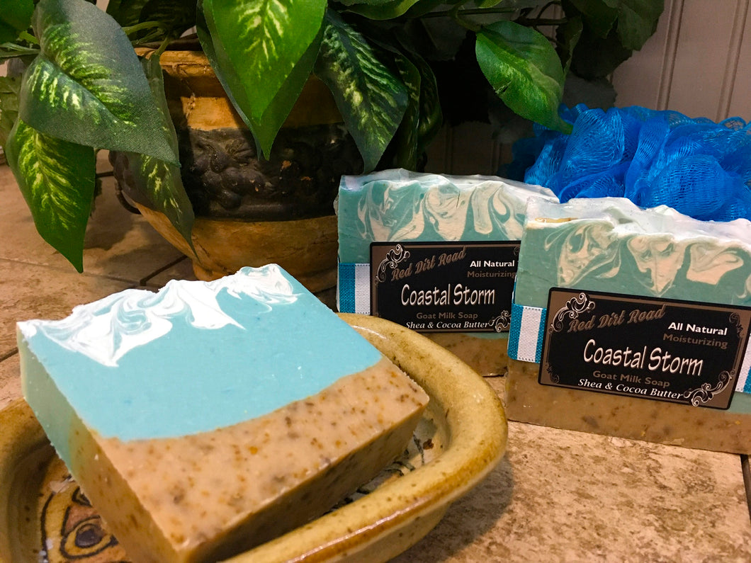 Coastal Storm Goat Milk Soap