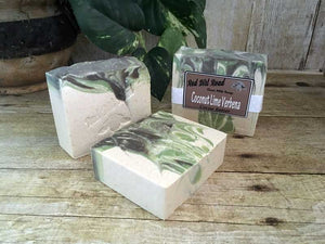 <center>Coconut Lime Verbena<br> <small><small>Goat Milk Soap</small></small>