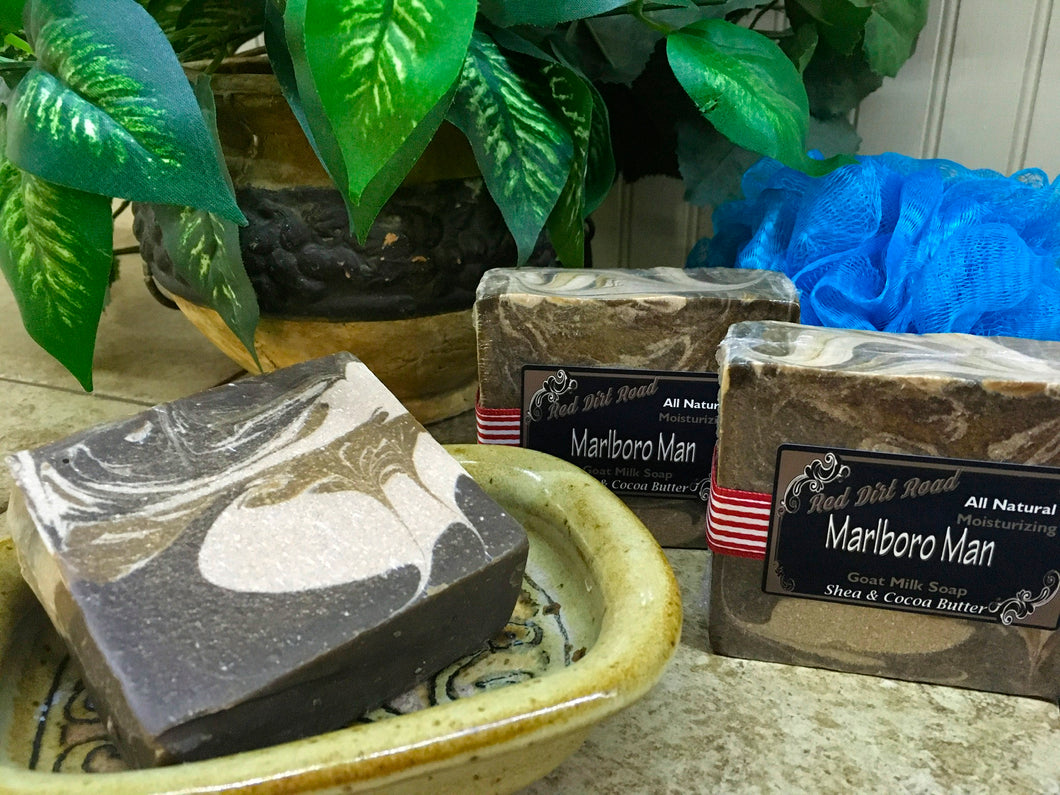 Marlboro Man Goat Milk Soap