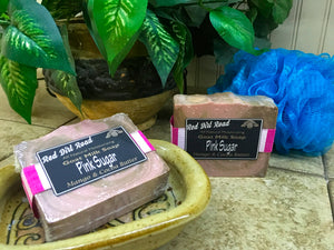 <center>Pink Sugar<br> <small><small>Goat Milk Soap</small></small>