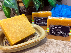 Tangerine & Honey Goat Milk Soap