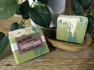 Eucalyptus & Spearmint  Goat Milk Soap