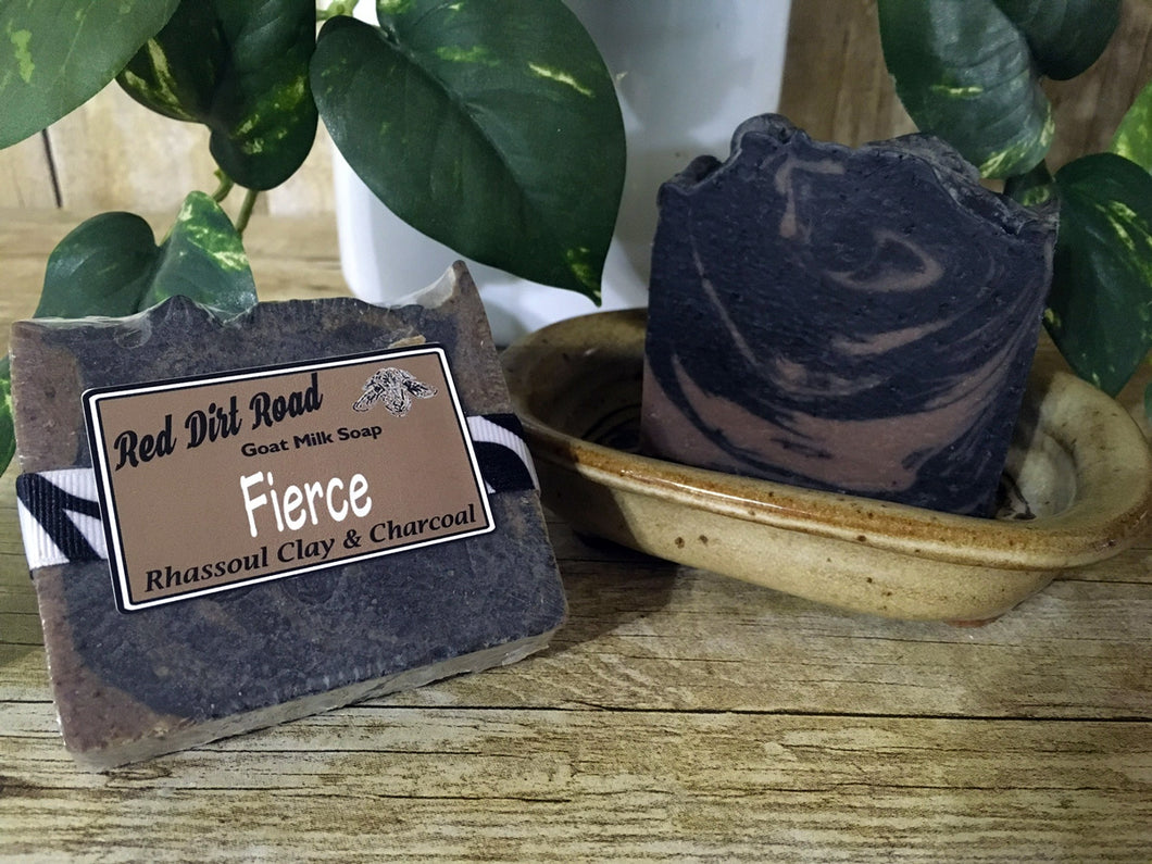 <center>Fierce<br> <small><small>Goat Milk Soap</small></small>