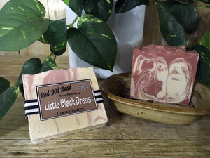 <center>Little Black Dress<br> <small><small>Goat Milk Soap</small></small>