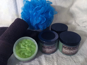 Coconut Lime Verbena Emulsified Sugar Scrub