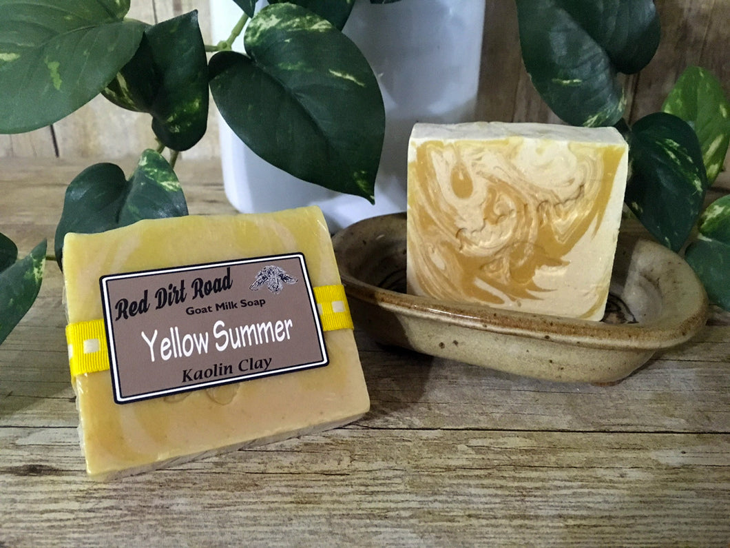 Yellow Summer  Goat Milk Soap