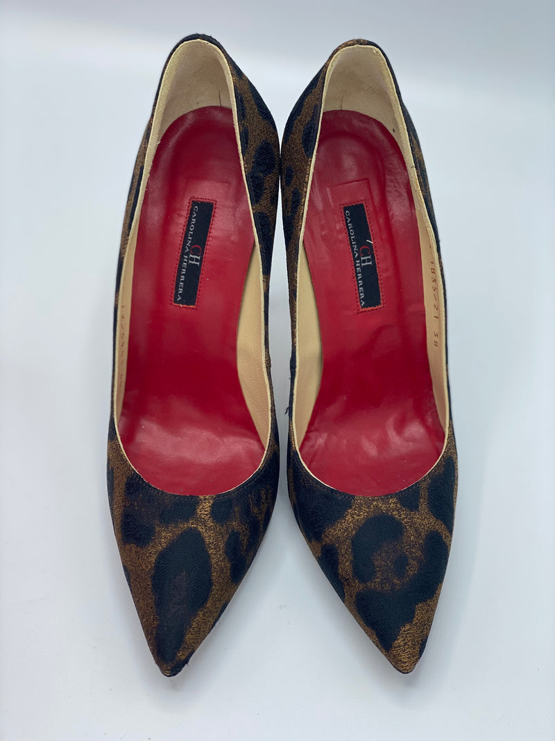 Pumps Leopard Carolina Herrera (38)