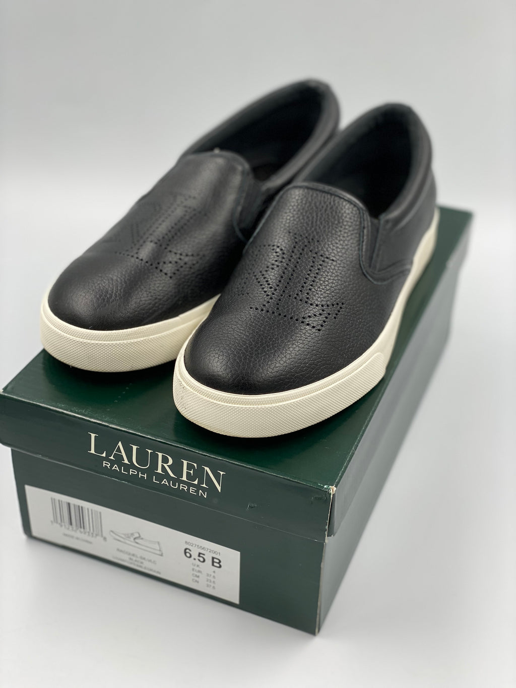 Slip On Sneakers Ralph Lauren (talle 36.5)