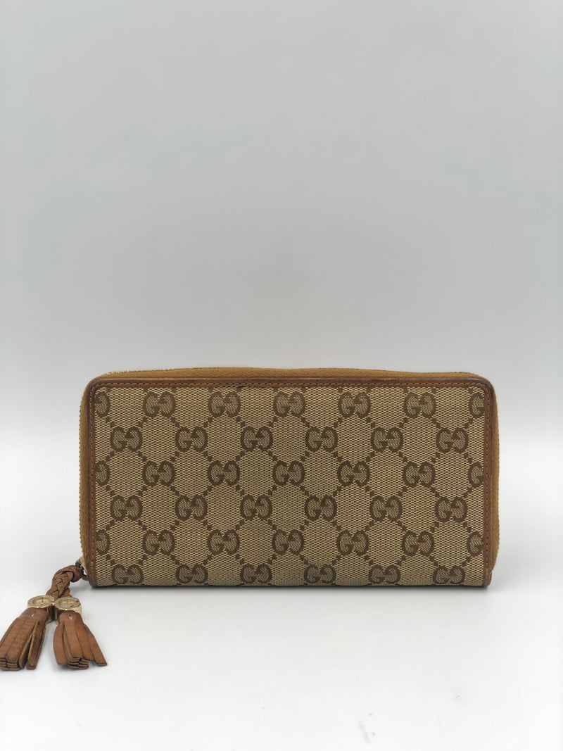 Billetera Gucci Canvas