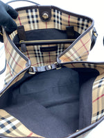 Cartera Burberry Large Canterbury Check Canvas